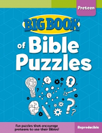 BIG BOOK OF BIBLE PUZZLES PRETEEN
