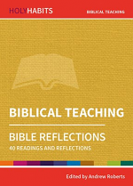 BIBLICAL TEACHING HOLY HABITS