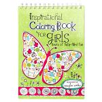 INSPIRATIONAL COLOURING BOOKS FOR GIRLS