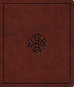 ESV JOURNALING BIBLE BROWN IMITATION
