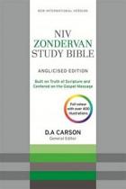 NIV ZONDERVAN STUDY BIBLE ANGLICISED