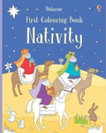 FIRST COLOURING BOOKS NATIVITY