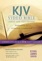 KJV VIDEO BIBLE DVD