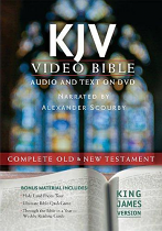 KJV VIDEO BIBLE DVD