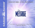THE MESSAGE AUDIO BIBLE MP3 CD