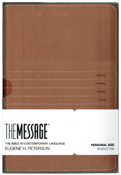 THE MESSAGE PERSONAL SIZE BIBLE