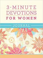 3 MINUTE DEVOTIONS FOR WOMEN JOURNAL