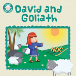 DAVID AND GOLIATH LITTLE LAMBS