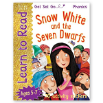 LEARN TO READ SNOW WHITE AND THE SEVEN DWARFS