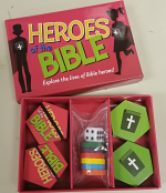 HEROES OF THE BIBLE BOARD GAME