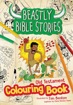 BEASTLY BIBLE STORES OLD TESTAMENT COLOURING BOOK
