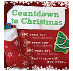 COUNTDOWN TO CHRISTMAS PACK OF 25
