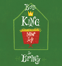 BORN A KING TRACT PACK OF 25