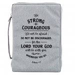 COURAGEOUS GREY BIBLE CASE