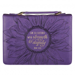 CLOTHED WITH STRENGTH AND DIGNITY BIBLE CASE