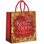 CHRISTMAS GIFT BAG A KING IS BORN