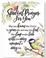 A SPECIAL PRAYER WOODLAND GRACE MAGNET