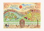 HANNAH DUNNETT CARD BIRTHDAY FARM