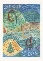 HANNAH DUNNETT FOR TO US A CHILD CHRISTMAS CARD