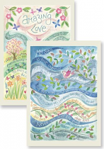 AMAZING LOVE & MY SONG IS LOVE UNKNOWN NOTECARDS PACK OF 10