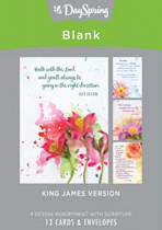 BLANK CARDS BOX OF 12