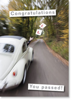 CONGRATULATIONS YOU PASSED CARD