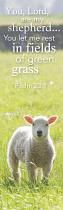 LEONARD SMITH BOOKMARK YOU LORD ARE MY SHEPHERD