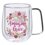 AMAZING GRACE GLASS MUG