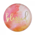 BLESSED GLASS DOME MAGNET