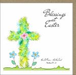 BLESSINGS AT EASTER GREETINGS CARD