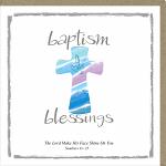 BAPTISM BLESSINGS CARD