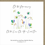 ANNIVERSARY OF THE LOSS OF YOUR LOVED ONE CARD