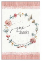 GIVE THANKS PRAYER JOURNAL HB