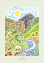HANNAH DUNNETT CARD PSALM 23