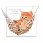 CAT IN HAMMOCK: MARK 6