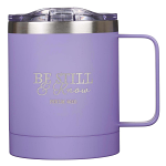 BE STILL AND KNOW STAINLESS STEEL CAMP MUG
