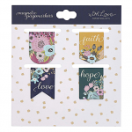 MAGNETIC BOOKMARKS SET OF 4