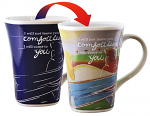 COLOUR CHANGING MUG COMFORT