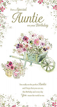 AUNTIES BIRTHDAY CARD