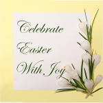 CELEBRATE EASTER WITH JOY PACK OF 5