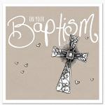 BAPTISM CROSS CARD