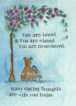 YOU ARE REMEMBERED CARD