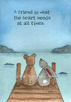 WHAT THE HEART NEEDS CARD