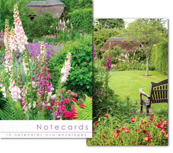 COTTAGE GARDEN NOTELETS PACK OF 10