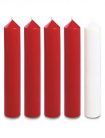 2 X 12 INCH ADVENT CANDLE SET