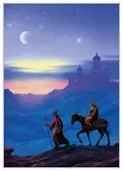 ARRIVING AT BETHLEHEM CHRISTMAS CARDS
