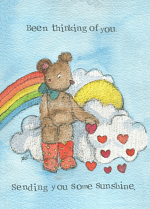 BEEN THINKING OF YOU CARD