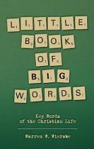 LITTLE BOOK OF BIG WORDS