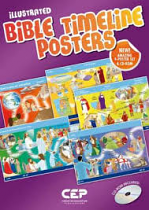 ILUSTRATED BIBLE TIMELINE POSTERS