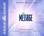 THE MESSAGE BIBLE AUDIO CD